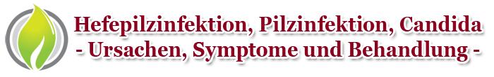 Hefepilzinfektion, Pilzinfektion und Candida