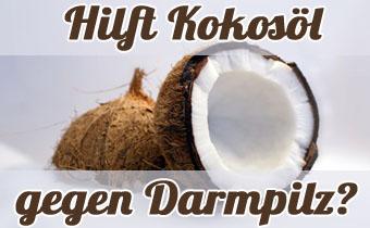 Kokosöl gegen Hefepilz im Darm