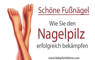 Schöne Fußnägel - Nagelpilz loswerden